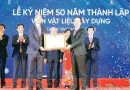 Vietnam Institute of Building Materials celebrated 50th anniversary