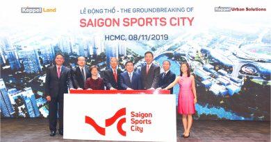 Keppel breaks ground on Saigon Sports City