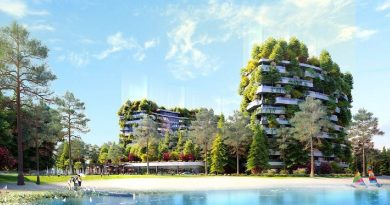 Dấu ấn kiến trúc xanh trên cao tại The Legend Đại Lải