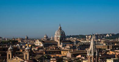 Choáng ngợp trước kiến trúc của thành phố vĩnh cửu Rome