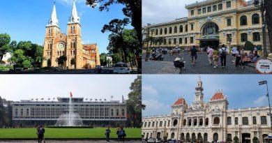 """Những công trình cổ kính có kiến trúc """"siêu độc"""" giữa Sài Gòn"""