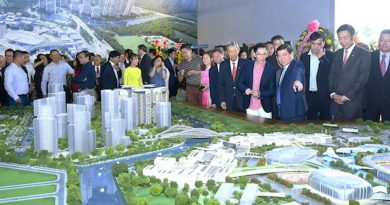 Keppel breaks ground for Saigon Sports City