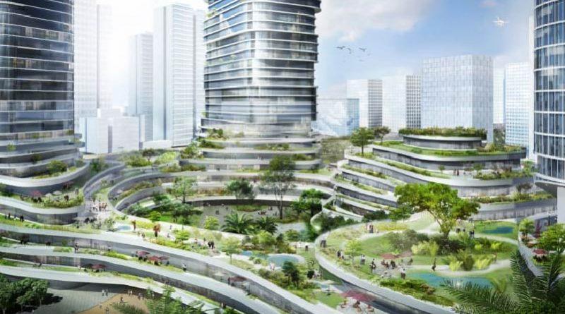Ole Scheeren unveils plans for a spectacular 'sky forest' in Vietnam