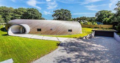 Ngôi nhà có hình dạng giống vỏ ốc ở Tây Sussex