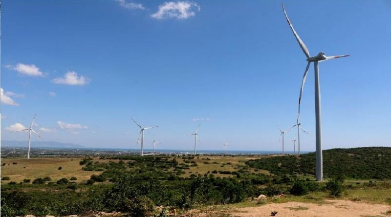 Hong Kong firm eyes 80-mln-USD wind power project in Thanh Hoa