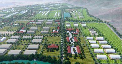 Phu Yen High-tech Agricultural Park nears completion