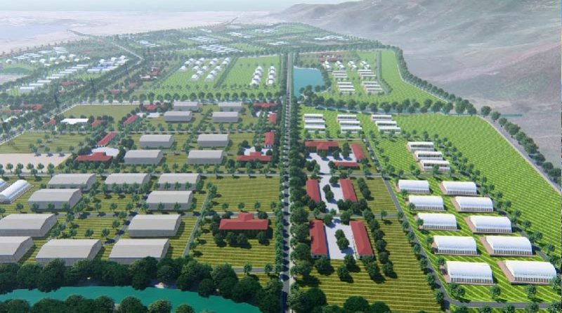 Phu Yen High-tech Agricultural Park nears completion