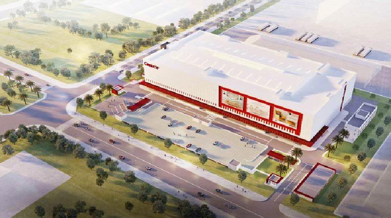 Hoà Bình khởi công dự án TTTM 40 triệu USD cung cấp đủ các loại vật liệu xây dựng, nội thất nhập khẩu tại KCN Long Hậu