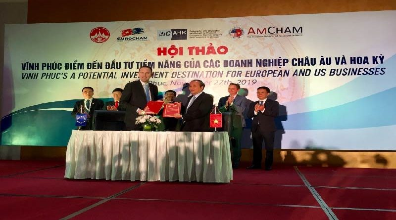 Vinh Phuc strives to attract more investment from Europe and America
