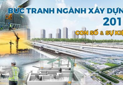 Bức tranh toàn ngành Xây dựng Việt Nam 2019 qua các con số và sự kiện