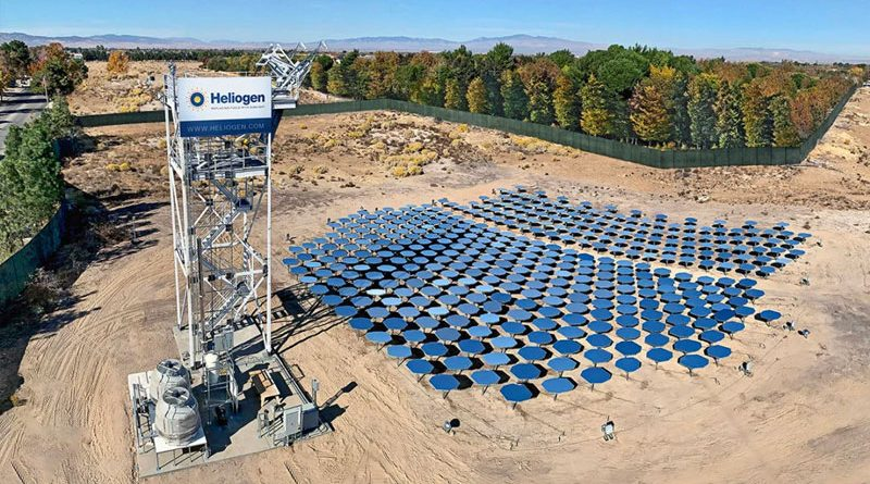 Heliogen's 1000C solar-heating technology could be key to low-emission cement
