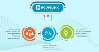 Chuyển đổi số: Nền tảng HOUSELINK dành cho cộng đồng ngành xây dựng