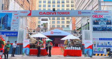 Newtecons tổ chức thành công lễ khởi công dự án Cadivi Tower