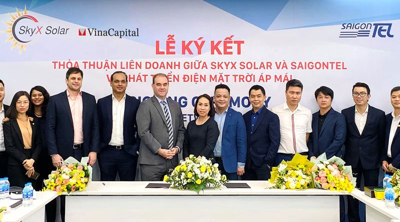 VinaCapital arm sets up solar power JV with industrial parks developer SAIGONTEL