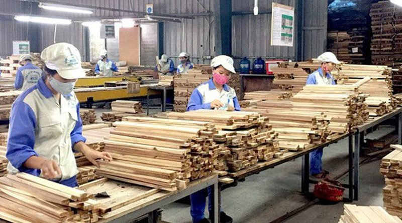 Wood export turnover grows 16 percent in Q1
