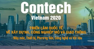 Contech Vietnam 2020: Hội tụ các nhà cung cấp Xây dựng hàng đầu