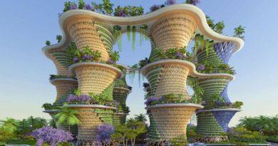 """Hyperion - Tòa nhà có """"kiến trúc xanh"""" độc đáo ở Ấn Độ"""