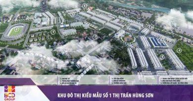 Tập đoàn BCD tiếp tục trúng thầu dự án Khu đô thị 1C ở Thái Nguyên