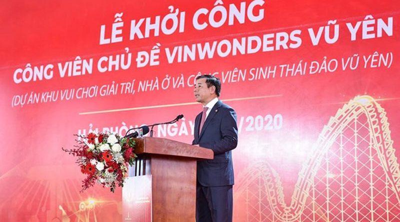 Vingroup khởi công dự án VinWonders Vũ Yên, Hải Phòng