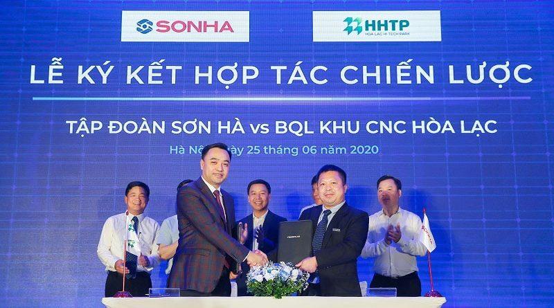 Sơn Hà hợp tác với Khu công nghệ Hòa Lạc đầu tư điện mặt trời