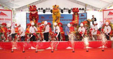 Khởi công xây dựng trung tâm thương mại Hà Phương