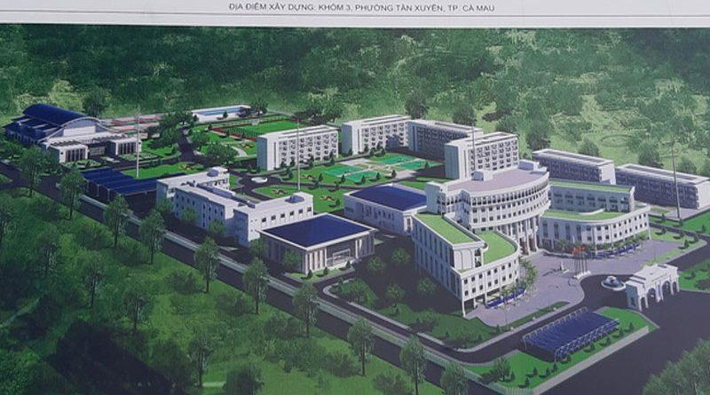 Trường Đại học Y Dược trên 1000 tỷ đồng sắp được xây dựng tại Cà Mau