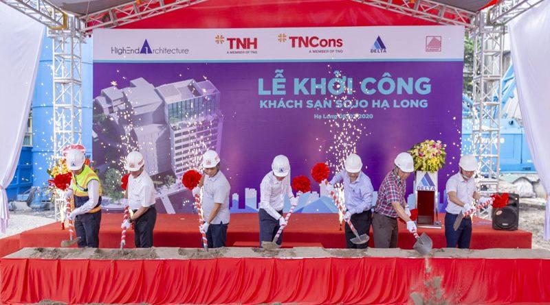 DELTA khởi công Khách sạn Sojo Hạ Long