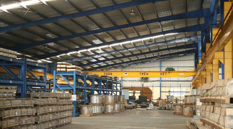 Mở rộng dự án đầu tư xây dựng sản xuất và gia công các sản phẩm