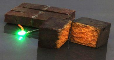 Biến gạch thành siêu tụ điện, có thể cung cấp cho các thiết bị