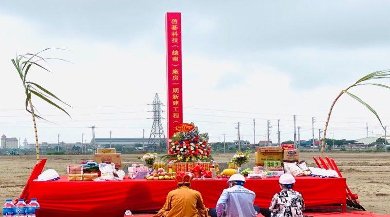 Triển khai dự án đầu tư xây dựng nhà máy WNC vốn 60 triệu đô tại Hà Nam