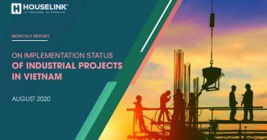 Tải Báo cáo Tình hình triển khai Dự án Công nghiệp tại Việt Nam – Tháng 08/2020