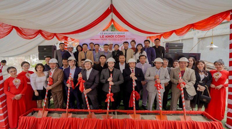 Biggroup chính thức khởi công tòa nhà văn phòng kết hợp khách sạn Big Angel Lào Cai