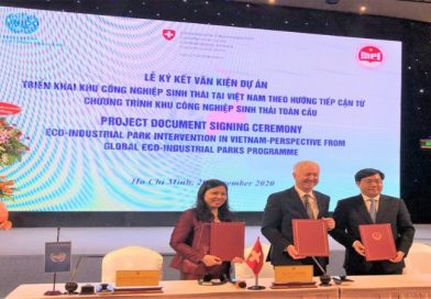 New project furthers eco-industrial park initiative