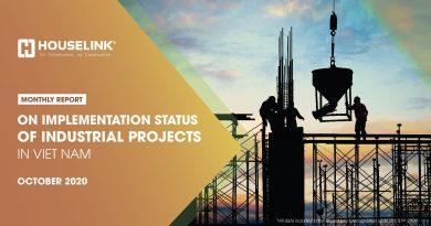 Báo cáo Tình hình triển khai Dự án Công nghiệp tại Việt Nam – Tháng 10/2020