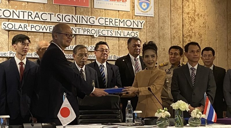 Hawee Vietnam – Signing Ceremony of a solar power project in Lao PDR