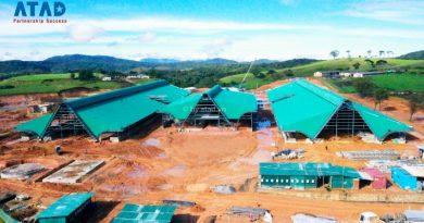 ATAD thực hiện dự án Dairy Farm, Sri Lanka