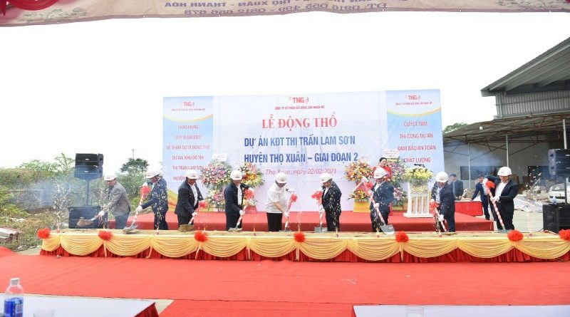 Động thổ dự án Khu đô thị thị trấn Lam Sơn giai đoạn II