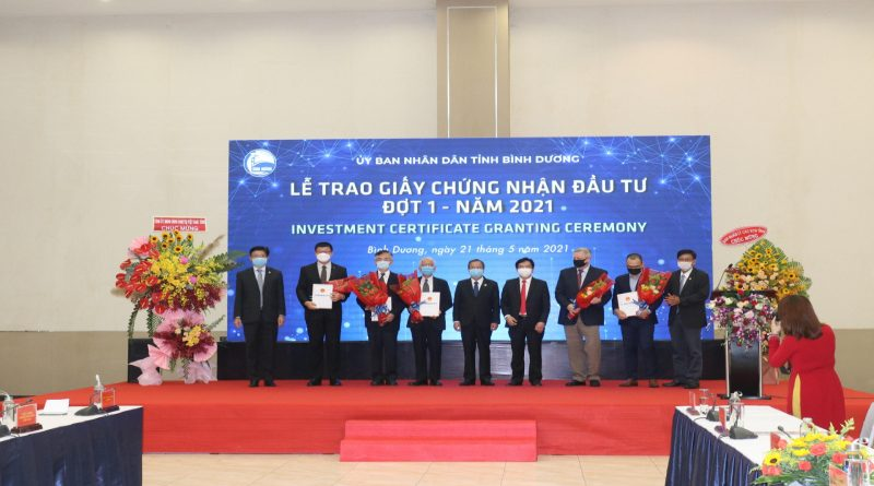 Binh Duong licenses five foreign-invested projects of $1 billion