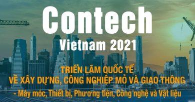 Contech Vietnam 2021: Hội tụ các nhà cung cấp Xây dựng hàng đầu