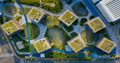 Ngôi trường được thiết kế giống như một ngôi làng ở Trung Quốc