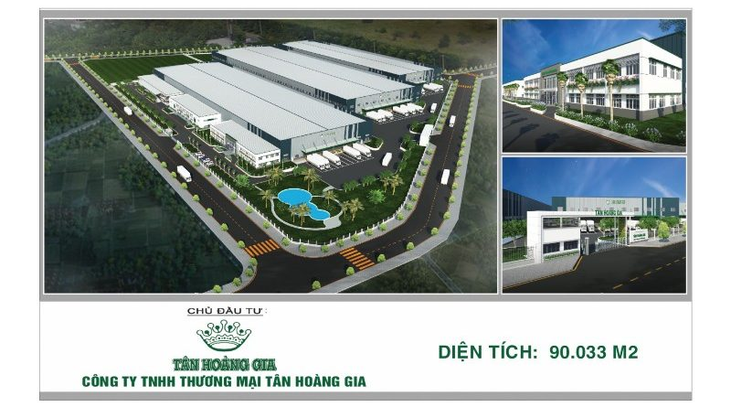 Groundbreaking Ceremony For Tan Hoang Gia New Factory in Dong Nam Industrial Zone