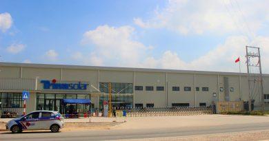 Nhà máy phát triển năng lượng Trina Solar: Chính thức đi vào hoạt động