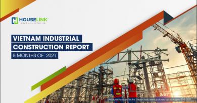 Viet Nam Industrial Construction Report 08 months of 2021