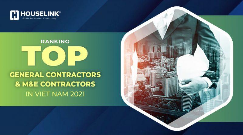Top General Contractors & M&E General Contractors in Vietnam 2021